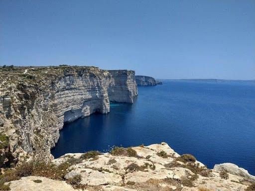 Sanap Cliffs - Gozo